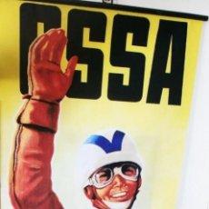 Coleccionismo deportivo: CARTEL POSTER BANDEROLA EN TELA PUBLICIDAD OSSA. Lote 288924688