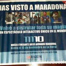 Coleccionismo deportivo: MARADONA POSTERAFICHE. Lote 288935238