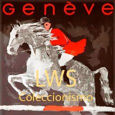 Coleccionismo deportivo: GENÈVE CONCOURS HIPPIQUE - IMÁGENES CABALLERÍA - CABALLOS - EQUITACIÓN - HÍPICA. Lote 295737903