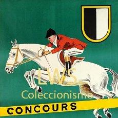 Coleccionismo deportivo: BURGDORF CONCOURS HIPPIQUE - IMÁGENES CABALLERÍA - CABALLOS - EQUITACIÓN - HÍPICA. Lote 295738373