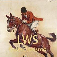 Coleccionismo deportivo: GENÈVE CONCOURS HIPPIQUE 1947 - IMÁGENES CABALLERÍA - CABALLOS - EQUITACIÓN - HÍPICA. Lote 295738483