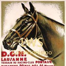 Coleccionismo deportivo: LAUSANNE CONCOURS HIPPIQUE - IMÁGENES CABALLERÍA - CABALLOS - EQUITACIÓN - HÍPICA. Lote 295738558