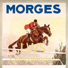 Coleccionismo deportivo: MORGES 1935 CONCOURS HIPPIQUE - IMÁGENES CABALLERÍA - CABALLOS - EQUITACIÓN - HÍPICA. Lote 295738648