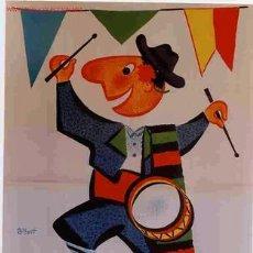 Carteles Feria: CARTEL FERIAS Y FIESTAS ALBACETE 1960. Lote 57887081