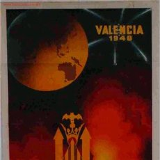 Carteles Feria: CARTEL FALLAS VALENCIA 1948. Lote 21536608
