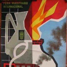Carteles Feria: FERIA MUESTRARIO INTERNACIONAL, 2º SALON DE LA CERAMICA. Lote 9281839