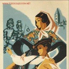 Carteles Feria: CARTEL ITO Nº 19 FIESTAS VALLADOLID 1952. Lote 21983353