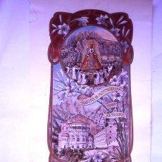 Carteles Feria: MONTSERRAT CENTENARIO 1881-1981 30 X 63 CM:. Lote 27258326