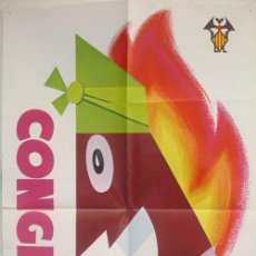 Carteles Feria: CARTEL FERIA CONGRESO FALLERO , FALLAS ,1974 , RARO. Lote 23681568