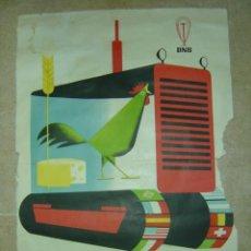 Carteles Feria: III FERIA INTERNACIONAL DEL CAMPO - D N S - MAYO-JUNIO 1956 - LITOGRAFIA. Lote 13308568