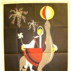 Carteles Feria: CARTEL VALLADOLID , FERIAS Y FIESTA 1958 ( CORIN ). Lote 18918849