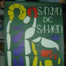 Carteles Feria: SALAMANCA - SAN JUAN DE SAHAGUN - AÑO 1967. Lote 26948614