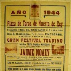 Carteles Feria: CARTEL TOROS MURCIA ,1953. Lote 24134701