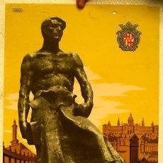 Cartazes Feira: CARTEL BARCELONA FERIA DE MUESTRAS 1948 , ILUSTRADOR CRISOL. Lote 21960176