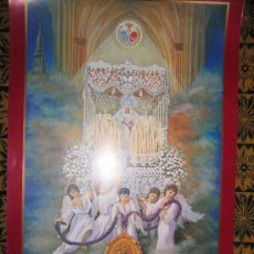 Carteles Feria: HDA SACRAMENTAL DE NUESTRO PADRE JESUS DE LA VICTORIA Y M-S. DE LA PAZ POSTER 84X57 APROX. Lote 194876770