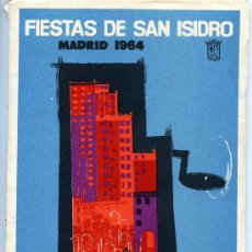 Carteles Feria: LIBRO PROGRAMA DE FIESTAS DE SAN ISIDRO - MADRID 1964 - CON ILUSTRACIONES. Lote 27472293