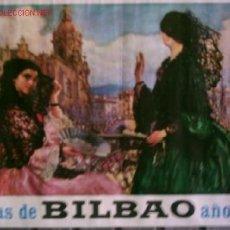 Carteles Feria: CARTEL FIESTAS DE BILBAO .. AÑO 1967. Lote 13709689
