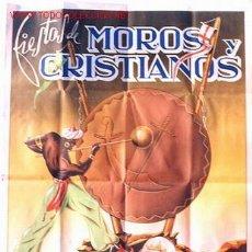 Carteles Feria: CARTEL FERIAS Y FIESTAS DE MOROS Y CRISTIANOS DE ELDA 1949 , ALICANTE. Lote 23700864