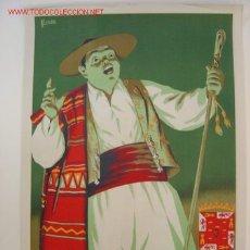 Carteles Feria: MURCIA - FIESTAS DE PRIMAVERA - AÑO 1953 - ILUSTRADOR: A. LAORDEN. Lote 118771986