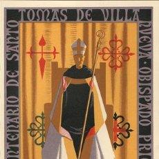 Carteles Feria - CARTEL ITO Nº 11 FIESTAS DE VILLANUEVA ¿HUESCA? 1955 - 17745696