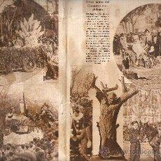Carteles Feria: HOJAS REPORTAJE.AÑO1935.CARNAVAL DE MADRID.DISFRACES.CARROZAS.BAILES.. Lote 10696422