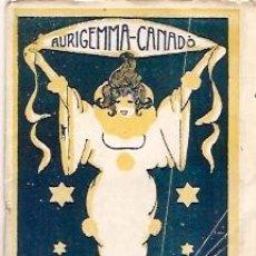 Carteles Feria: TEATRO NOVEDADES CARNAVAL 1922 CARNAVAL GRAN BAILE AMARILLO. Lote 11838391