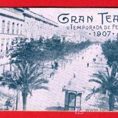 Carteles Feria: PROGRAMA FERIAS Y FIESTAS DE CORDOBA , 1907 , GRAN TEATRO , UNA JOYA. Lote 18918853