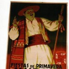 Carteles Feria: CARTEL FIESTAS DE SU PRIMAVERA. MURCIA. AÑO 1953. ILUSTRADOR ALAORDEY. IMP. LIT. ORTEGA VALENCIA.. Lote 25048991