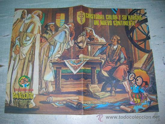 Carteles Feria: DIA DE LA RAZA CRISTOBAL COLON COLECCION ANTEOJITO DESCUBRIMIENTO AMERICA 12 DE OCTUBRE DE 1492 - Foto 4 - 18288387