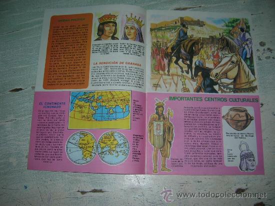 Carteles Feria: DIA DE LA RAZA CRISTOBAL COLON COLECCION ANTEOJITO DESCUBRIMIENTO AMERICA 12 DE OCTUBRE DE 1492 - Foto 6 - 18288387