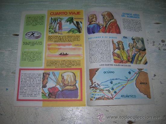 Carteles Feria: DIA DE LA RAZA CRISTOBAL COLON COLECCION ANTEOJITO DESCUBRIMIENTO AMERICA 12 DE OCTUBRE DE 1492 - Foto 7 - 18288387