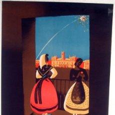 Carteles Feria: CARTEL VALLADOLID , 1943 , FERIAS Y FIESTAS ,ORIGINAL , LITOGRAFIA, ILUSTRADOR PADILLA. Lote 19752111