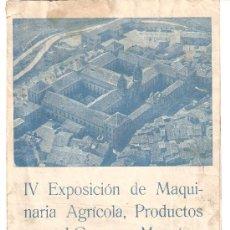 Carteles Feria: PROGRAMA FERIA DE CERVERA AÑO 1958 . Lote 21416578