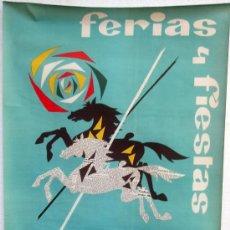 Carteles Feria: CARTEL SALAMANCA 1965 , FERIAS Y FIESTAS , ILUSTRADOR YTUPPIAGA. Lote 21517833