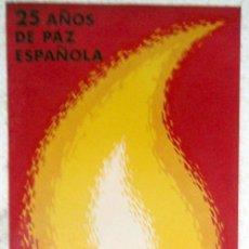 Carteles Feria: CARTEL FALLAS VALENCIA 1964 , 4º CONGRESO FALLERO, ILUSTRADOR CONTRERAS JUESAS. Lote 21519656