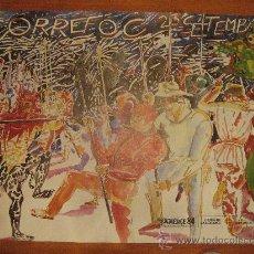 Carteles Feria: CARTEL - POSTER . CORREFOC . FESTES DE LA MERCÈ .1984 . BARCELONA . 75 CMS. X 55 CMS . .. Lote 22636033