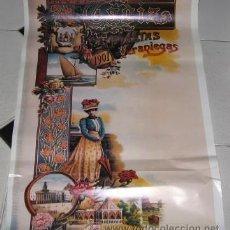 Carteles Feria: CARTEL DE LA VELADA DE LOS ÁNGELES DE CÁDIZ. Lote 24116700