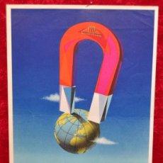 Carteles Feria: CARTEL DE XXVII FERIA INTERNACIONAL DE BRUSELAS BELGICA 1953. MIDE 30 CM X 20 CM.. Lote 25316170