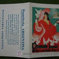 Carteles Feria: GRANADA FIESTAS DEL SANTISIMO CORPUS CHRISTI 1941 PROGRAMA OFICIAL. Lote 26745152
