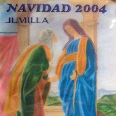 Carteles Feria: JUMILLA. MURCIA. NAVIDAD 2004. 63'6 X 44'9 CM.. Lote 27787952