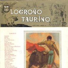 Carteles Feria: PROGRAMA DE FERIA Y FIESTAS DE SAN MATEO 1964 . LOGROÑO TAURINO. Lote 28708340