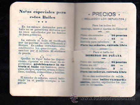 Carteles Feria: SEVILLA. CARNAVAL 1916. KURSAAL. PROGRAMACION (VER FOTOS). - Foto 2 - 28842776