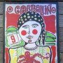 Carteles Feria: CARTEL FESTA DO POLBO / POSTER FIESTA DEL PULPO O CARBALLIÑO / CARBALLINO 1981 ORENSE ( GALICIA ). Lote 30248619