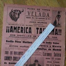 Carteles Feria: VELADA 1972 TOLEDO. Lote 30966331