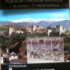 Cartazes Feira: GRANADA CARTEL FERIA DEL CORPUS 1986,. Lote 30988936