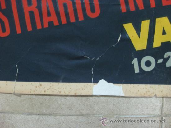 Carteles Feria: VALENCIA - XXX FERIA MUESTRARIO INTERNACIONAL - AÑO 1952 - Foto 5 - 31345159