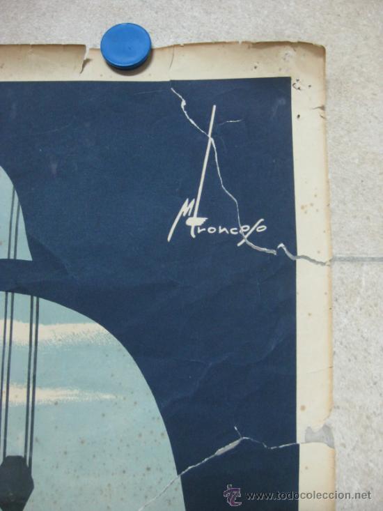 Carteles Feria: VALENCIA - XXX FERIA MUESTRARIO INTERNACIONAL - AÑO 1952 - Foto 6 - 31345159