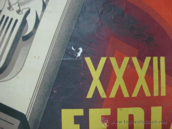 Carteles Feria: VALENCIA - XXXII FERIA MUESTRARIO INTERNACIONAL - AÑO 1954 - Foto 6 - 31345212