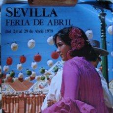 Carteles Feria: CARTEL FERIA SEVILLA 1979. Lote 32390193