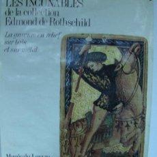 Carteles Feria: MUSEO DEL LOUVRE 60 X40 PRECIOSO DEL AÑO 74 GABINET DE DESSINSLES INCUNABLES DE ROTHCHILD. Lote 32702119